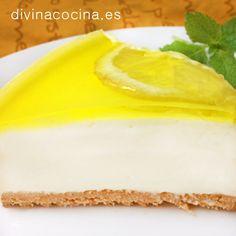 Tarta de queso y limón » Divina CocinaRecetas fáciles, cocina andaluza y del mundo. » Divina Cocina