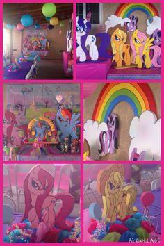 My little pony birthday theme.