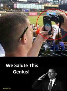 Funny Joke About A Genius Man ft. Barack Obama