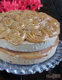 Bolo de Churros (Naked Cake de Churros)