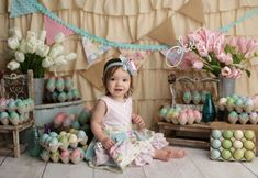Easter Mini Sessions were so much fun this year!  I love seeing all the kids dressed in their pretty pastels playing with the vintage easter eggs and spring tulips :)  Jessica M Photography is located in Mena, Arkansas and specializes in newborn and baby photography.