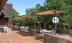 Olifants River Lodge Restaurant and deck set on the mountain slopes with great river views #nature #Mpumalanga #SouthAfrica http://www.olifants-river-lodge.co.za