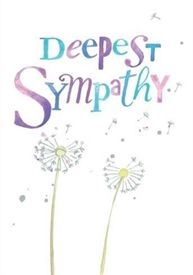 Picture of Sympathy Card - With Deepest Sympathy