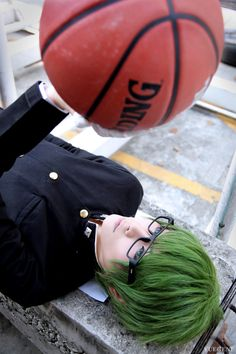 Midorima Shintaro | Kuroko No Basket #cosplay #anime... I normally don't pin cosplays but this is an exception!!!!!!