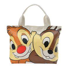 Canvas tote bag (L) Chip & Dale