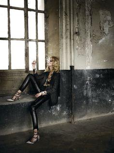 Carmen Kass: Elle Spain October 2010