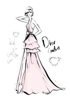 Megan Hess' The Dress