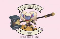 Fight like a girl: Poppy