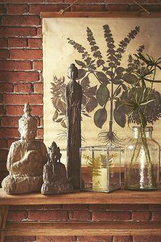 #kremmerhuset #vår #spring #botanisk #botanical #buddha #lantern #bregne #inspirasjon #husoghjem #inspiration #interior #interiør #home #dekor #pynt #vase #candles #style