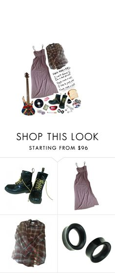 """i used to think the world needed me until i needed the world"" by gruesomemind ❤ liked on Polyvore featuring Dr. Martens, Twelfth Street by Cynthia Vincent, Laurence Doligé and vintage"