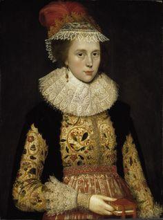 Earstring | Marcus Gerards de Jonge, Margaret Layton, c. 1620