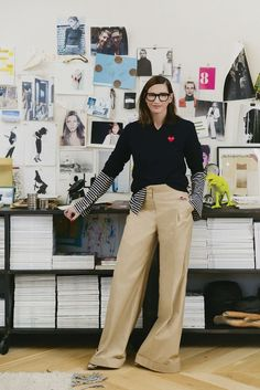jenna lyons on j crew, girls and bees Pinterest: KarinaCamerino