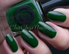 Cirque Colors: ⭐ McKittrick⭐ ... a deep and mysterious forrest green glossy creme nail polish  ... an October 2015 release | ChitChatNails