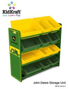 I need this for my little men. Especially if grandpa keeps shopping for them at the John Deere store in town!