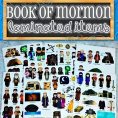 Felt, Magnetic, Stickers or Laminated Characters for Entire Book of Mormon Stories Book Of Mormon Scriptures, Book Of Mormon Stories, Felt Board Stories, Family Home Evening, Lds Primary, Flannel Boards, Church Quotes, Church Activities, General Conference