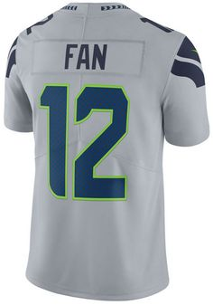 Nike Men s Fan  12 Seattle Seahawks Vapor Untouchable Limited Jersey Team  Names af5604087