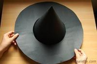 DIY - How to make a witch hat                              …                                                                                                                                                                                 More