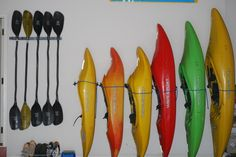 organized kayaking gear, so awesome!