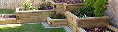 Raised garden beds and wooden planters - Ayegardening Ltd