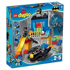 Lego DUPLO BATCLAVE ADVENTURE set 10545 CREASED BOX