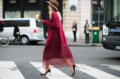 On the Streets of Paris Fashion Week Fall 2014
