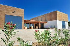 Prix national de la construction bois - Panorama - Construction d'une cave gravitaire à Caux