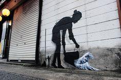 Cet artiste espagnol transforme les rues du Japon en oeuvres d'art   DozoDomo