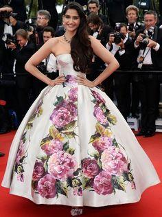 Sonam Kapoor's red carpet style