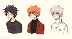 """I was trying to draw some humanstuck Karkat but I just can't pick one headcanon ahh"" <-- Dibs on the ginge."