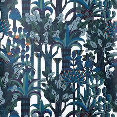 Hundreds of pretty, witty wallpaper designs to dream about- 'Jardin d'Osier'