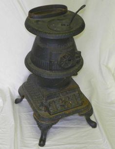 Small Cast Iron Pot Belly Stove