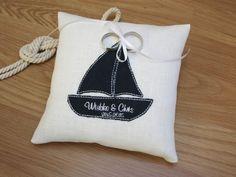 Ringkissen+|+Segelboot+|+Namen+|+Datum+von+Hochzeitsstube+auf+DaWanda.com