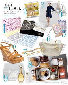 CeciStyle v145: Get The Look - The Super Mom Issue - Give Mom a gift thats both stylish and thoughtful - Luxury wedding Invitations by Ceci New York - Ceci New York, fine stationery, Estee Lauder, beauty, Ted Baker, fashion, Ippolita, jewelry, fresh, home goods, Diane von Furstenberg, handbags, Tai, Sarabeths, Dior, Salvatore Ferragamo.