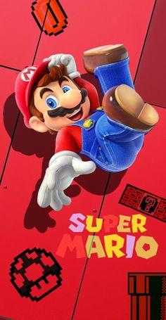 Super Mario Bros, Super Smash Bros Brawl, Super Mario Games, Super Mario World, Cloverfield 2, Bike Drawing, Nintendo World, Mundo Dos Games, Iphone Wallpaper Tumblr Aesthetic
