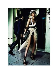 Sensual '70s Chic Fashion - The GQ UK July 2013 Editorial Stars a Sizzling Bregje Heinen (GALLERY)