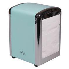 Cabanaz Servetten Dispenser incl. servetten – Blauw