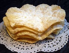 This is Fasnachtschüechli (Faz-knocks-who-well-helley). A Swiss carnival cake that appears everywhere in February. One bite, and you're hooked.