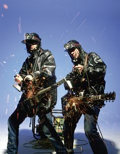 The KLF, Justified Ancients of MuMu. 90s British Acid House superstars.