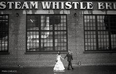 photo - industrial wedding