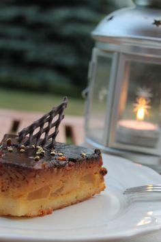 Pear cake for dinner