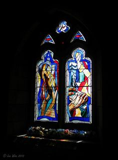 Stained Glass Window, Culross Abbey