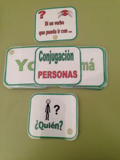 AUDICIÓN Y LENGUAJE: Barajas y otros juegos (Gramática - Morfosintaxis) Mural Digital, Tongue Twisters, Spanish, Logo, Games, Ideas, Teaching Strategies, Spanish Language, Learn Spanish