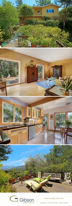 Custom Topanga home with lush canyon views. You'll feel far removed from the city, yet still be close to shopping and the local community center. Contact agents Matt and Kelli Isbell or Megan Whalen to see your new home. Los Angeles Homes, Local Real Estate, Apartment Ideas, The Locals, House Tours, Future House, Lush, Interior Decorating, New Homes