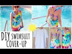 DIY Tie-Dye Swimsuit Cover-Up!