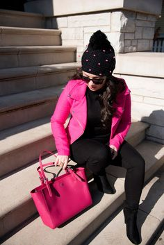 3 Easy Ways to Wear Pink... Just in time for Valentine's Day | The Petite Diaries |