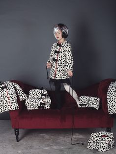 #halloween 2014 kids costumes shot by @smatthewphoto for Mini Style Blog in collaboration with @ShanAndToad. Cruella DeVil #kidsfashion #shanandtoad #fallwinter2014 #FW14 #children #kids #childrenwear #kidswear #kidsfashiontrends #girls #boys