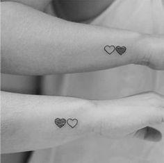 30 Valentine's Day Couple Matching Tattoo Designs - Page 17 of 30 - Couple Matching Tattoos Ideas For Valentine's Day; Twin Tattoos, Sibling Tattoos, Paar Tattoos, Bff Tattoos, Couple Tattoos, Trendy Tattoos, Small Tattoos, Tattoos For Women, Sleeve Tattoos