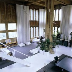 Ricardo Bofill's converted abandoned cement factory loft