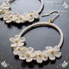 crochet earrings More:...diagrams for making