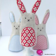 Rabbit Egg Cosy £5.00 by Merry Berry and the Little Panda